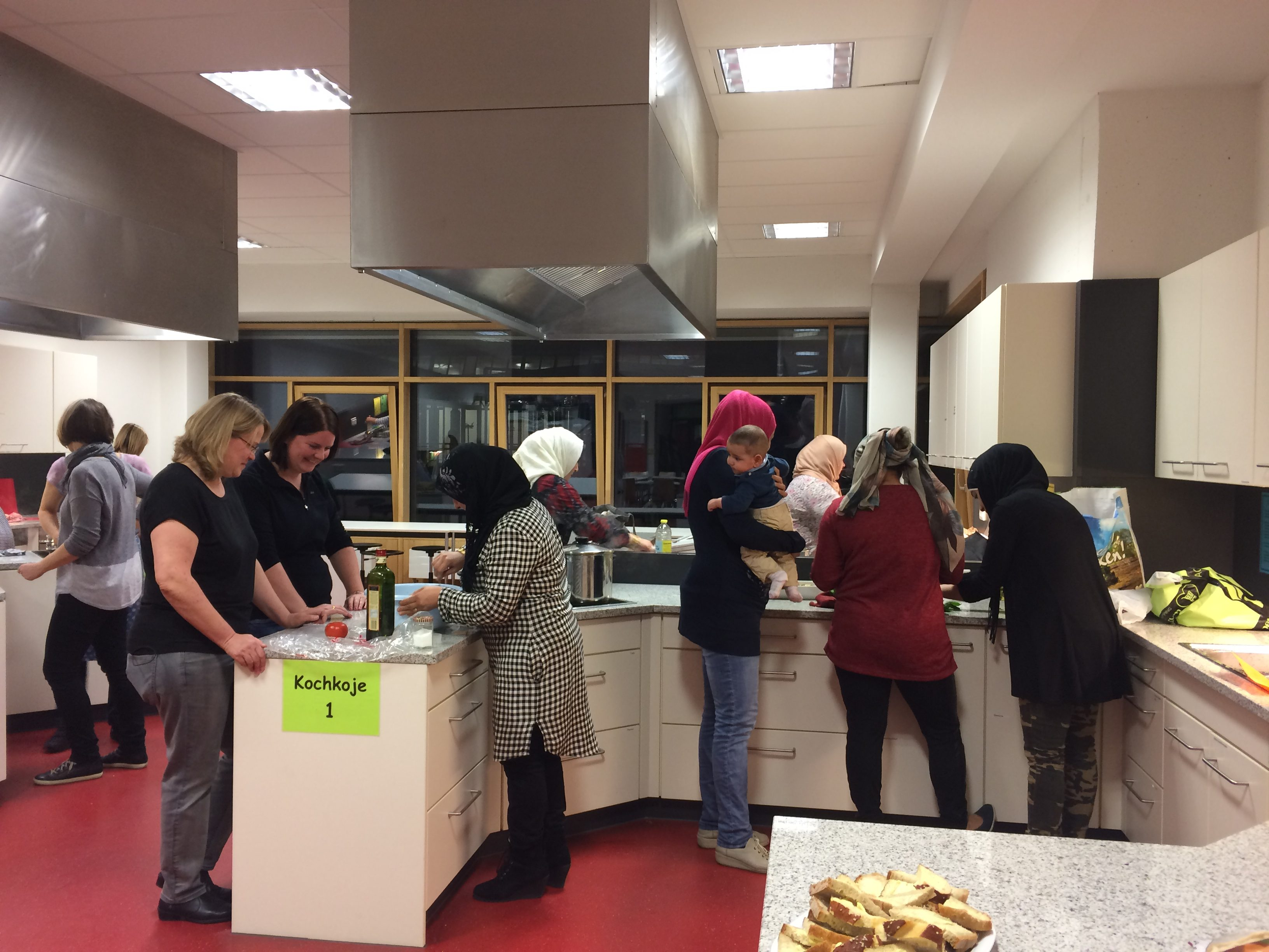 Multikultureller Kochabend